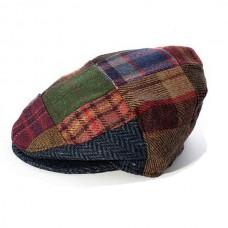 Flat Cap Hat - Patch Design